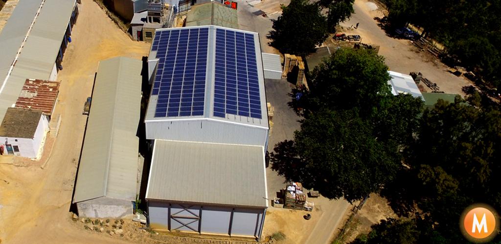 Solar Panels Timberlea Farm