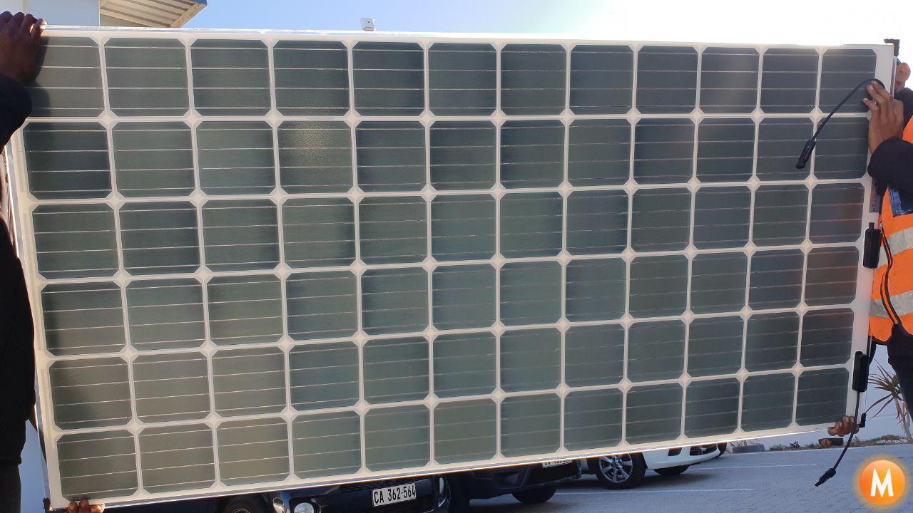 Ceramic Glass Bifacial Solar Panels Solar Power Solar