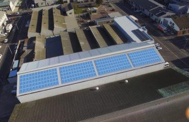 solar panel layout Boston Breweries