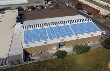 Bifacial Solar Panel Layout