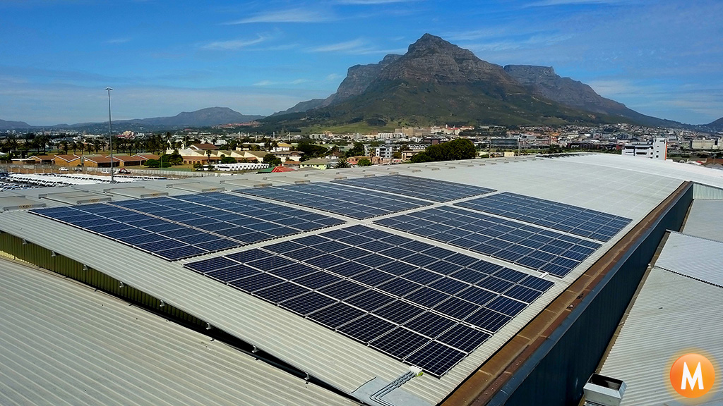 Solar Power System Youngman Roofing