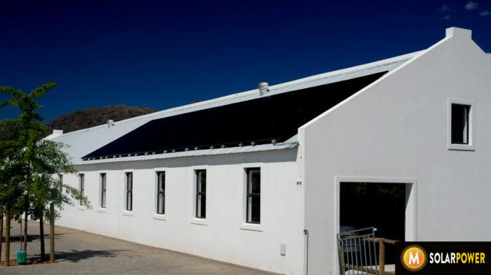 All black Solar Panels