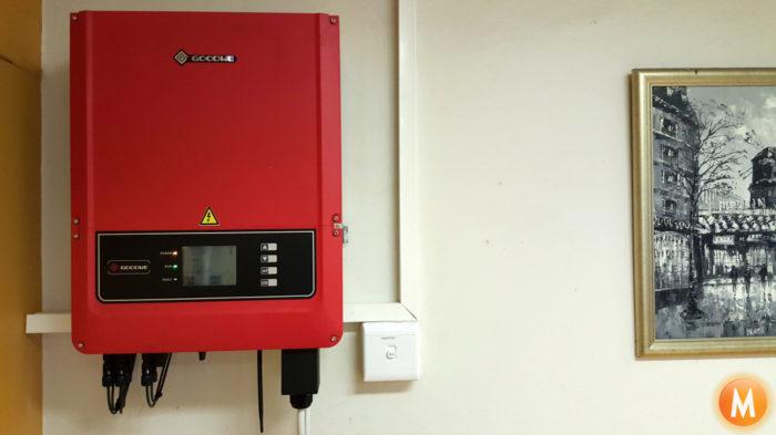Robertson House Solar Panel Inverter