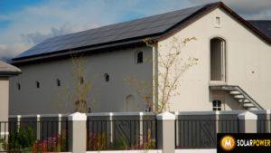 All Black Solar Panels Val de Vie