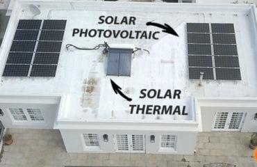 solar hot water solar photovoltaic