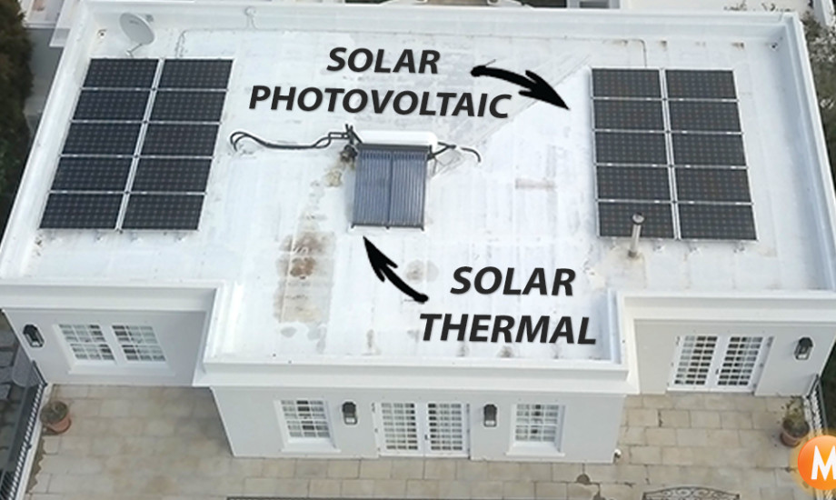 solar hot water solar photovoltaic