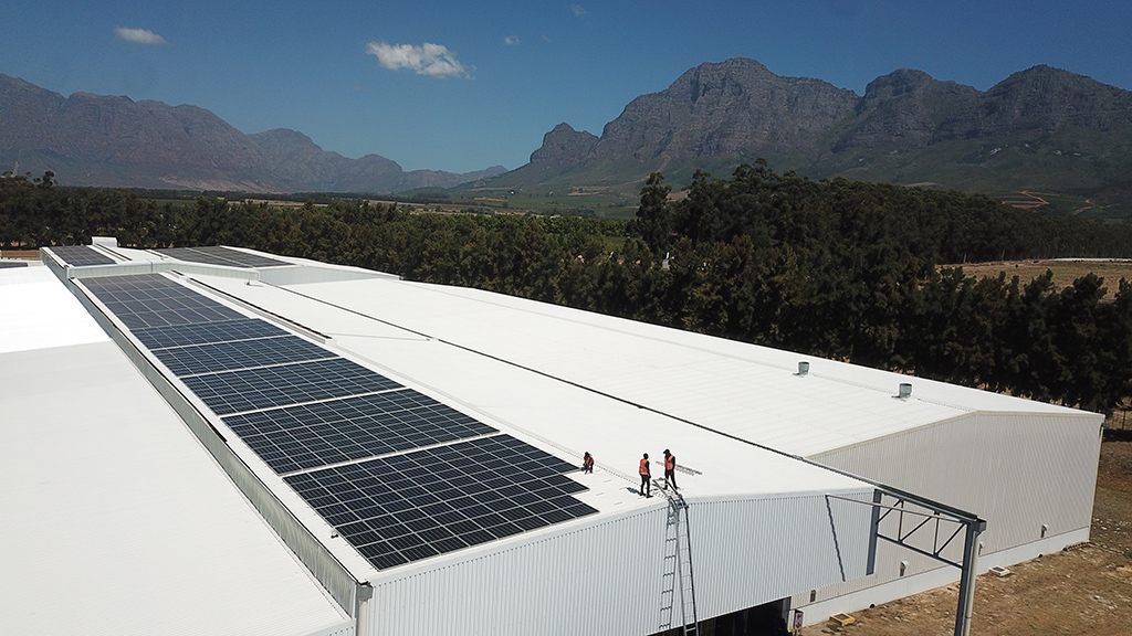 Stellenpak Solar Panels