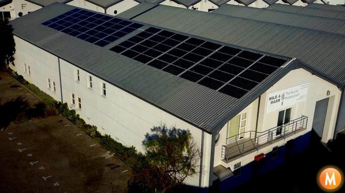 Solar Power System - Wild & Marr