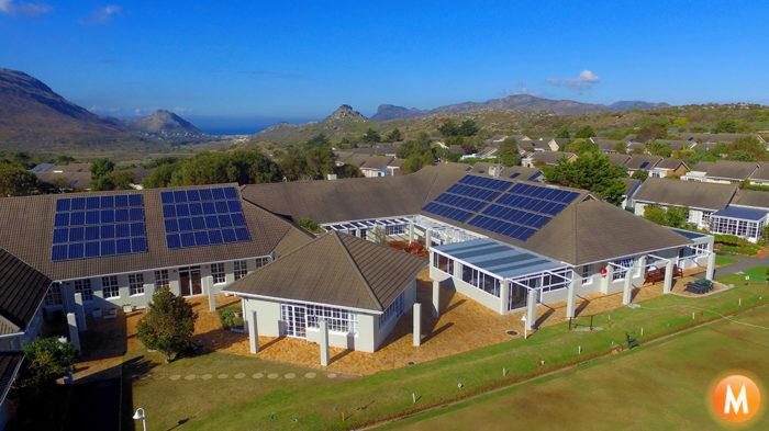66kW Solar Power System Village