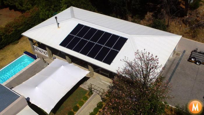 Solar Power System Riebeek Kasteel