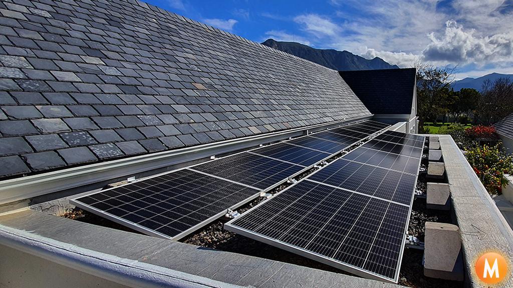 Solar Power System Steenberg Estate